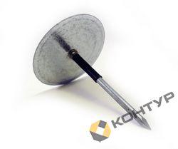 Чашеобразные изоляционные гвозди неизолированные (сталь оцинкованная)