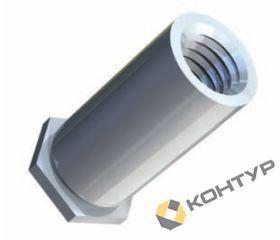 Втулка резьбовая неполнопроходная тип TR - BSO (сталь оцинкованная)