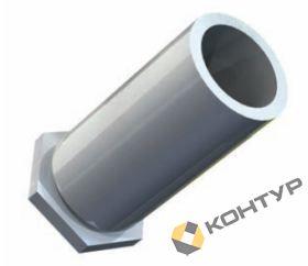 Втулка резьбовая полнопроходная тип TR - SO (сталь оцинкованная)