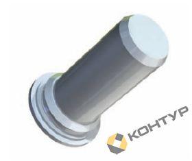 Шпилька безрезьбовая тип TR-ТР (сталь оцинкованная)