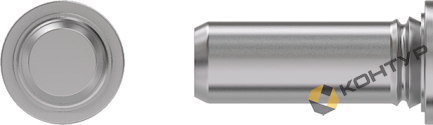Шпилька безрезьбовая тип ТРS (нержавеющая сталь)