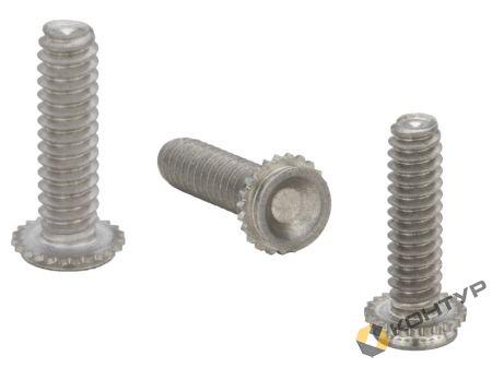 Резьбовая шпилька (тип CHA, CFHA алюминий, CHC, CFHC нерж.сталь) для установки во фрезерованное непроходное отверстие