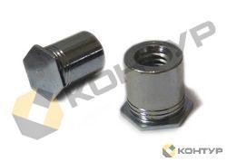 Втулка резьбовая неполнопроходная тип BSOS, BSO4 (нержавеющая сталь)