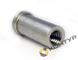 Втулка резьбовая приварная алюминиевая AlMg3