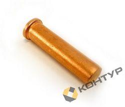 Штифт приварной (шпилька) без резьбы (сталь омедненная)