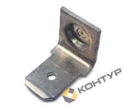 Приварной контакт заземления - однолепестковый (сталь нержавеющая )