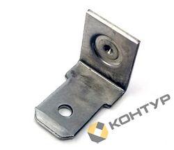 Приварной контакт заземления - однолепестковый ( алюминиевый AlMg3 )