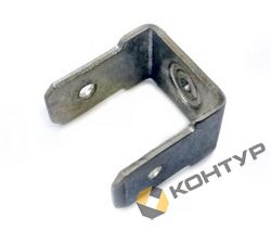 Приварной контакт заземления двухлепестковый (алюминиевый AlMg3)